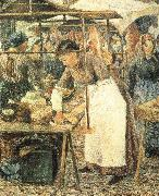 Camille Pissarro Butcher oil painting reproduction