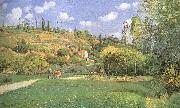 Cattle woman, Camille Pissarro