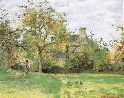 Camille Pissarro House oil painting reproduction