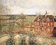 Deaf woman's home, Camille Pissarro