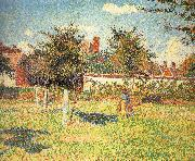 Afternoon sunshine, Camille Pissarro
