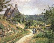 Chat in a small way those who, Camille Pissarro