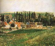 Camille Pissarro Hurrying scenery oil painting reproduction