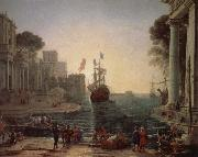 Claude Lorrain Ulysses Kerry race will be the return of her father Dubois oil painting reproduction