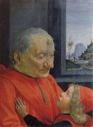 old man with a young boy, Domenico Ghirlandaio