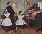 Portrait of the Bellelli Family, Edgar Degas