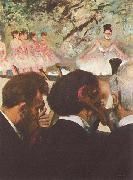 Musicians in the Orchestra, Edgar Degas