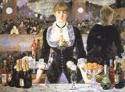 a bar at the folies bergere, Edouard Manet