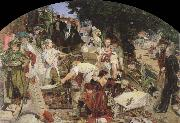 Ford Madox Brown work oil painting reproduction