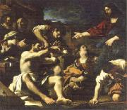 raising of lazarus, GUERCINO