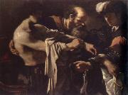 return of the prodigal son, GUERCINO