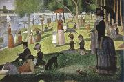 Georges Seurat a sunday on la grande jatte 1884 oil painting on canvas