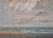 Gustave Courbet Fisherman oil painting reproduction