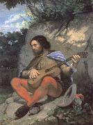 Young man in a Landscape or The Guitarreor