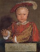 Hans Holbein Childhood portrait of Edward V oil painting on canvas