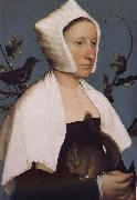 With squirrels and birds swept Europe and the portrait of woman