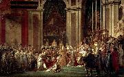 Jacques-Louis David The Coronation of Napoleon oil painting reproduction