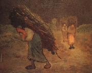 Jean Francois Millet Winter oil painting reproduction