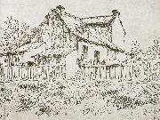 Jean Francois Millet The house Beside wici oil painting reproduction