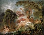 Jean Honore Fragonard Yu Nu map oil painting reproduction