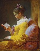 A Young Girl Reading, Jean-Honore Fragonard