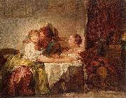 The Captured Kiss, the Hermitage, St. Petersburg, Jean-Honore Fragonard