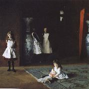 Bo Aite daughters, John Singer Sargent