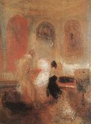 Joseph Mallord William Turner Concert oil painting reproduction