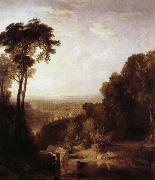 Joseph Mallord William Turner over backen oil painting reproduction