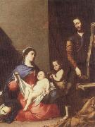 Jusepe de Ribera The Holy family oil painting reproduction