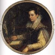 Lavinia Fontana Self portrait oil painting reproduction