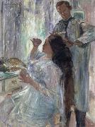 charlotte corinth at her dressing table, Lovis Corinth