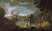Nicolas Poussin Russian ears Phillips and Eurydice oil painting reproduction