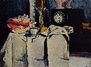 Paul Cezanne The Black Marble Clock oil painting on canvas
