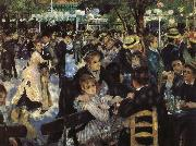 Red Mill Street dance, Pierre Auguste Renoir
