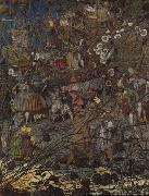 Richard Dadd The Fairy Feller Master Stroke by Richard Dadd oil painting artist