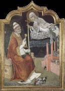 SANO di Pietro The Virgin Appears to Pope Callistus lll oil painting