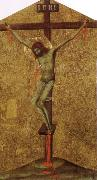 Simone Martini Christ on the Cross oil painting reproduction