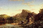 Thomas Cole Italian Sunset oil painting reproduction