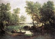 Thomas Gainsborough River Landscape oil painting reproduction