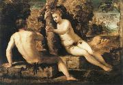 adam and eve, Tintoretto