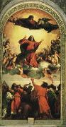 Titian Assumption oil painting reproduction