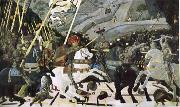 UCCELLO, Paolo Battle of San Romano oil painting reproduction