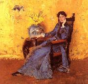 William Merritt Chase Portrait of Miss Dora Wheeler oil painting
