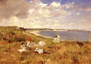 William Merritt Chase Idle Hours oil painting