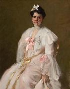 William Merritt Chase Courtesy Figge Art Museum oil painting