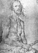 Self-Portrait as the Man of Sorrows, Albrecht Durer