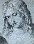 Head of the Twelve Year Old Christ, Albrecht Durer