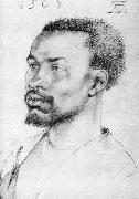 Head of a Negro, Albrecht Durer