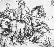 The Great Courier, Albrecht Durer